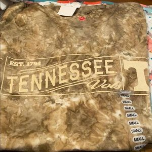 Tennessee men's small short sleeve shirt NWT